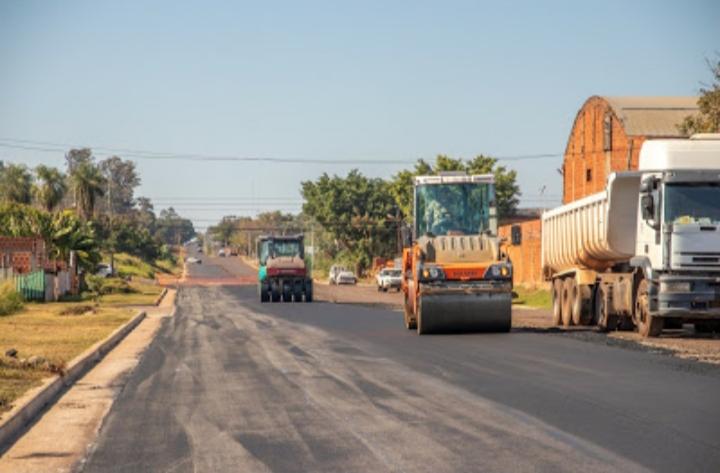Posada: mejoran los accesos de los barrios de la ciudad